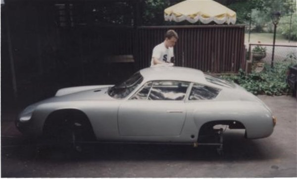 Jack Reuter And His Porsche Cliff Reuter Etceterini Com